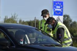 Celní kontrola na hranicích se Slovenskem