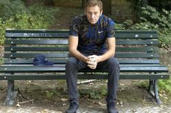 Alexej Navalnyj po propuštění z berlínské nemocnice