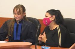 Renáta Gažová u Okresního soudu Nový Jičín