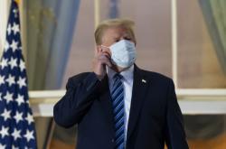 Donald Trump po propuštění z nemocnice