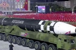 Ukázka nové severokorejské rakety