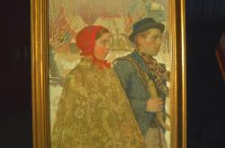 Našel se dávno ztracený obraz židovské rodiny z Německa