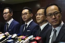 Odvolaní hongkongští poslanci