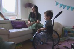 Dvouletý Milan trpí spinální svalovou atrofií