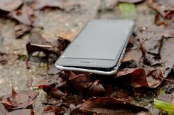 Rozbitý displej mobilu