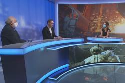 InterviewČT24 Dufek Hauk