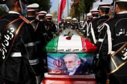 Pohřeb Mohsena Fachrízádeha