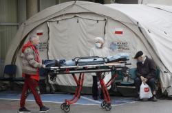 Zdravotní stan v polské Varšavě
