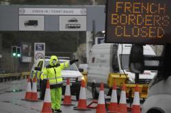 Uzavřený terminál v přístavu Dover