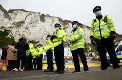 Policisté v Doveru