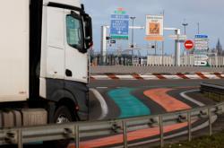 Kamion u Calais