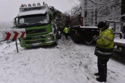 Nehoda u Rácova na Jihlavsku