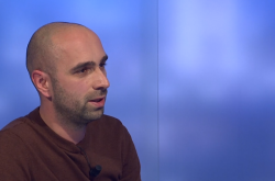 Novinář Lukáš Houdek