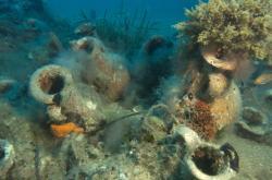 Archeologický nález pod hladinou moře