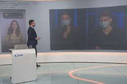 Anna Šulcová a Jakub Gulab v Devadesátce ČT24