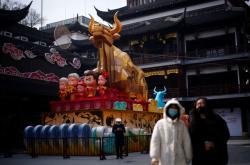 Dekorace na oslavy čínského nového roku