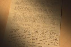 Dopis o bombardování Ostravy v roce 1944