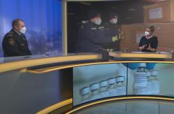 Náměstek generálního ředitele hasičského sboru František Vavera v Událostech komentáře