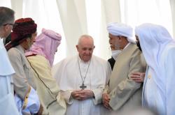 Papež při návštěvě iráckého Uru