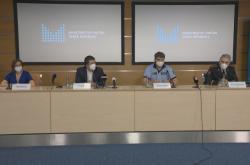 Tisková konference po jednání ústředního krizového štábu