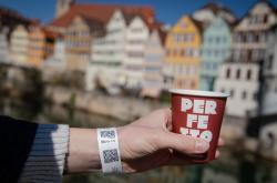 Obyvatelé Tübingenu mohou nakupovat v restauracích i obchodech pomocí QR kódu