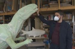 Národní muzeum chystá model Burianosaura. Jde o prvního dinosaura, jehož kost se našla na území Česka
