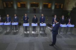 Debata předsedů poslaneckých klubů