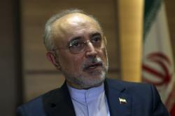 Vedoucí íránského jaderného programu Alí Akbar Sálehí