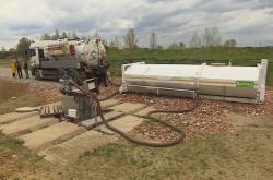 Odsávání kontaminované vody