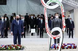 Francouzský prezident Emmanuel Macron uctil památku obětí otroctví