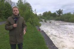 Deště zvedly toky řek
