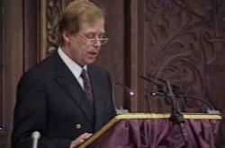 Václav Havel převzal Sonningovu cenu