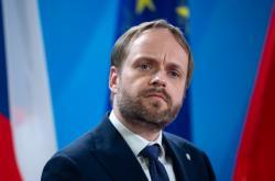 Český ministr zahraničí Jakub Kulhánek