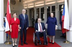 Prezident Miloš Zeman na návštěvě Rakouska