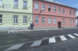 Nepovedená rekonstrukce ulice v Krnově