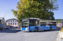 Autobus Arrivy v Železné Rudě