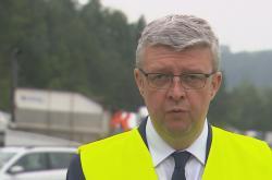 Ministr dopravy Karel Havlíček