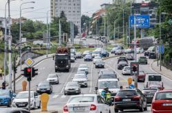 Dopravní situace v okolí Husovického tunelu v Brně