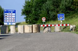 Zavřený slovensko-polský přechod Palota-Radoszyce