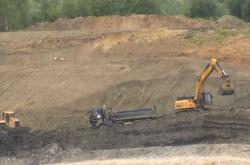 Těžba kaolínu