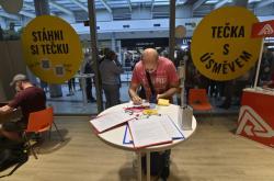 Nově otevřené očkovací centrum bez registrace v pražském obchodním centru Nový Smíchov