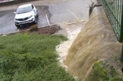 Následky bouřek v Liberci