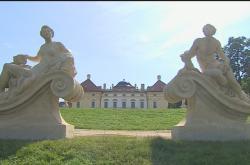 Zrestaurované sochy ve Slavkově