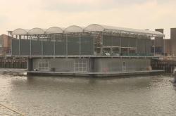 Plovoucí farma v Rotterdamu
