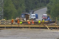 Oprava mostu na Vysočině