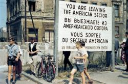 Hranice rozděleného Berlína