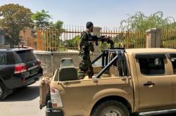 Afghánská armáda v ulicích Kábulu