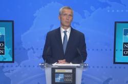Brífink po jednání ministrů zahraničí NATO o Afghánistánu