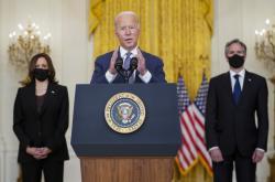 Prezident Biden hovoří o evakuaci Američanů z Afghánistánu