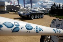 Veletrh zbraní v Rusku